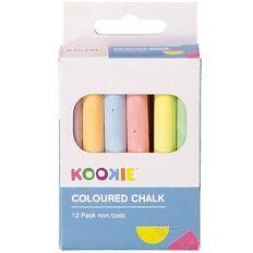 U-Do Chalk Coloured 12 Pack
