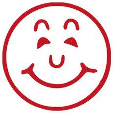 Xstamper Stamp Smiley Red