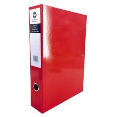 WS Pressboard Box File Fs Red