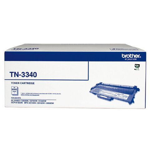Brother Toner TN3340 Black (8000 Pages)