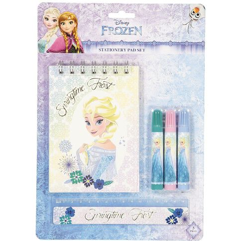 Frozen Stationery Pad Set