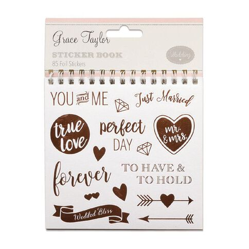 Grace Taylor Wedding Sticker Flipbook