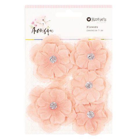 Rosie's Studio Arabesque Flowers 5 Piece Assorted