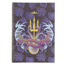 Disney Villains Spiral Softcover Notebook A4