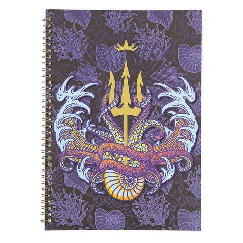 Disney Villains Spiral Softcover Notebook A4
