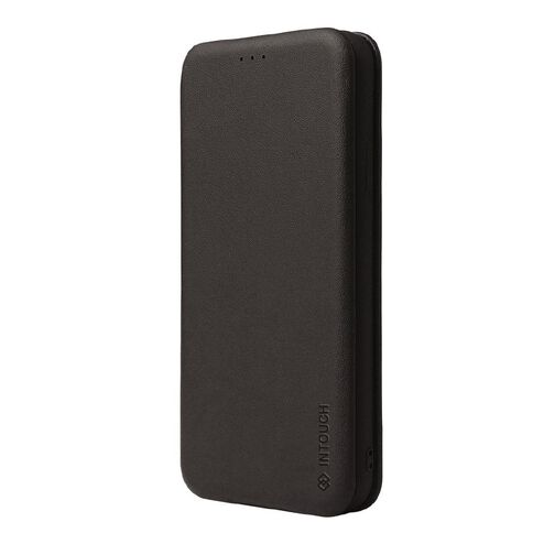 INTOUCH iPhone 12 Pro Milano Wallet Case Black