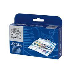 Winsor & Newton Cotman Watercolour Pocket Plus Set 12