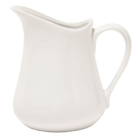 Living & Co Belly Jug White 1L