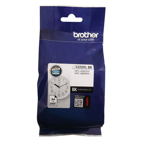 Brother Ink LC3329XLBK Black (3000 Pages)