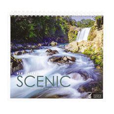 John Sands 2021 Calendar New Zealand Scenic Desk Calendar 185mm x 200mm