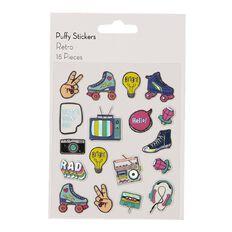 Uniti Puffy Stickers Retro
