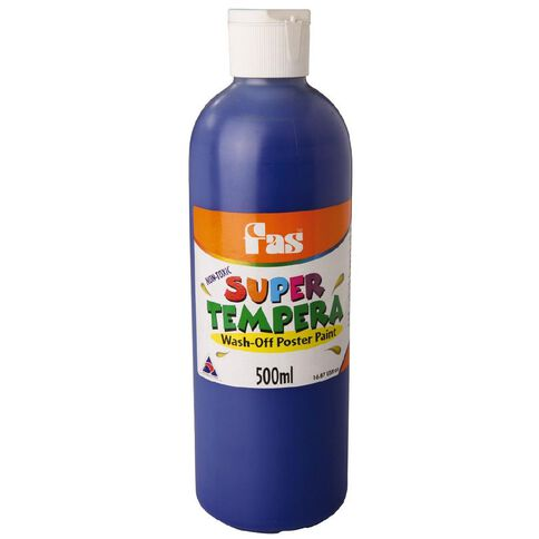 FAS Paint Super Tempera 500ml Ultra Blue 500ml