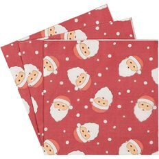 Wonderland Christmas Napkins 3 Ply 33cm x 33cm 30 Pack