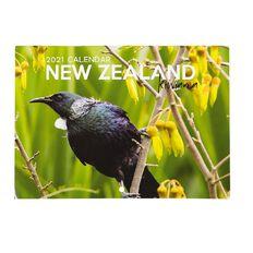 Bright Ideas 2021 Calendar Monthly Kiwiana A5