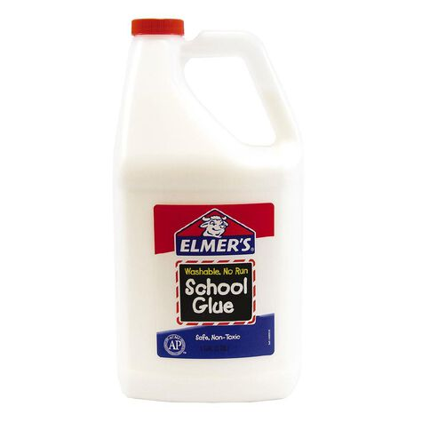 Elmer's White Liquid School Glue 3.8L White