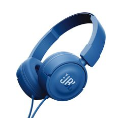 JBL T450 Wired Headphones Blue