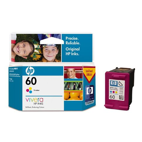 HP Ink Cartridge 60 Colour (165 Pages)