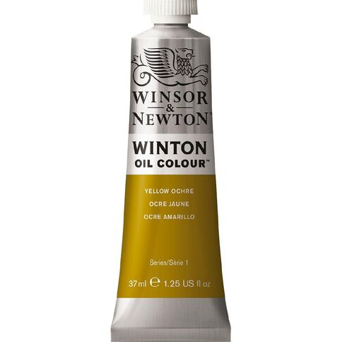 Winsor & Newton Winton Oil Paint 37ml Ochre