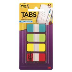 Post-It Tabs 15mm Solid Colours