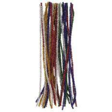 U-Do Chenille Glitter Multi-Coloured 30 Pack