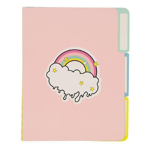 Uniti Fun & Funky Fun Life Paper File 3 Pack