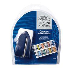 Winsor & Newton Cotman Watercolour Mini Plus Set 8