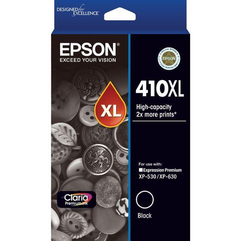 Epson Ink 410XL Black (530 Pages)