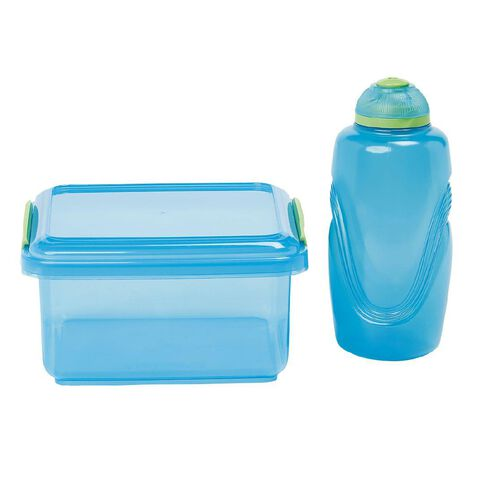Sistema Lunch Box 1.2L with Skittle Bottle 310ml