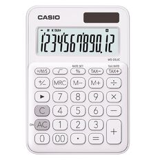 Casio Desktop 12 Digit Calculator White