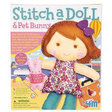 4M Stitch A Doll Assorted