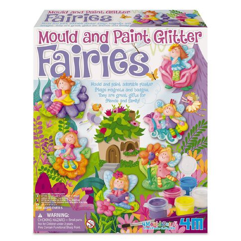 4M Craft Kits Mould And Paint Assorted