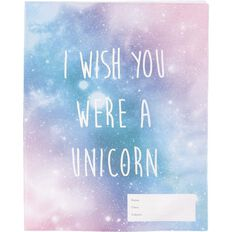 Kookie Unicorn Funfetti Book Sleeve 1B5