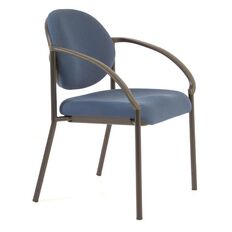Buro Seating Essence Visitor Chair Blue Blue