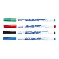 Bic Whiteboard Marker Fine Assorted 4 Pack
