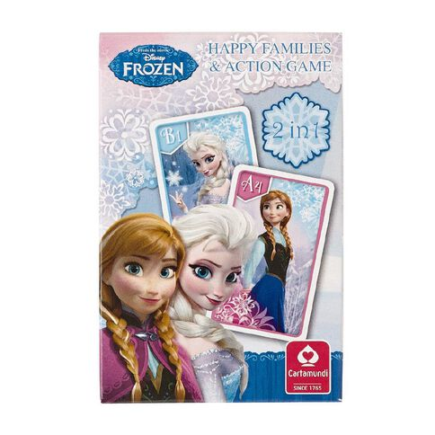Disney Frozen Card Happy Family Game
