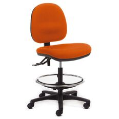 Chair Solutions Aspen Midback Tech Chair Orange