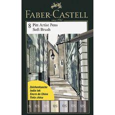 Faber-Castell Pitt Artist Brush Pens Soft 8 Pack