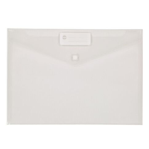 WS Document Envelope Single Dome Clear