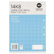 WS Pad Refill 14K8 2mm Quad 30 Leaf Punched