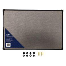 Litewyte Grey Fabric Pinboard 400mm x 600mm