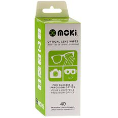 Moki Optical Lens Wipes 40 Pack
