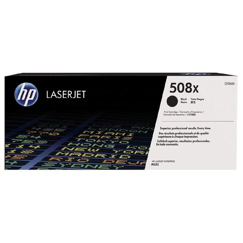 HP 508X Black Contract LaserJet Toner Cartridge (12500 Pages)