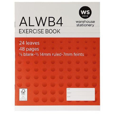 WS Exercise Book ALWB4 Ruled 24 Leaf