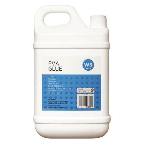 WS PVA Glue White 2L