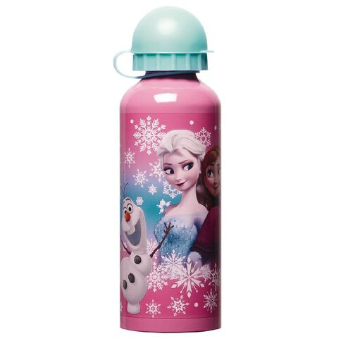 Frozen Disney Aluminium Bottle 500ml Multi-Coloured