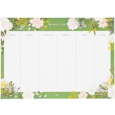 Uniti Secret Garden Weekly Planner A4