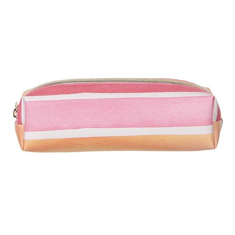 Uniti Water Colour PU Barrel Pencil Case