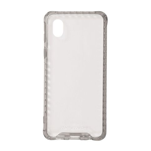 INTOUCH Samsung A01 Vanguard Drop Protection Case Clear