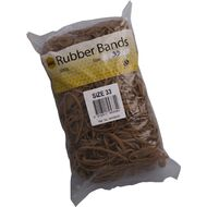 Marbig Rubber Bands 500g #33 Brown