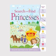 Search & Find: Princesses by Susie Linn